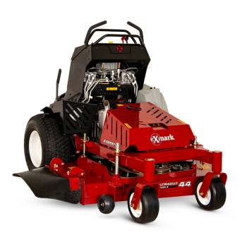 Exmark stand-on mowers are designed to deliver more productivity on more properties.