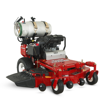 We've raised the bar on propane-fueled mowers with improved starting, stronger performance and reduced fuel consumption.