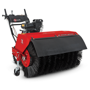 With four-season versatility, the Exmark Rotary Broom is an essential tool for landscape maintenance professionals.