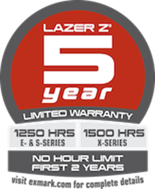 Lazer Z 5-Year Warranty