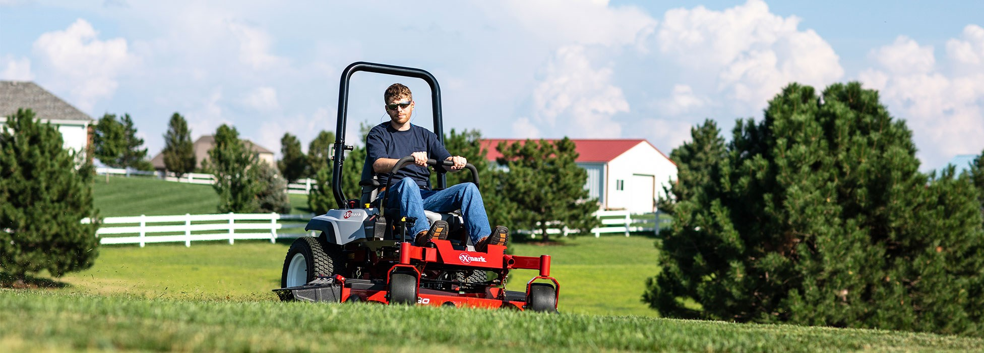 Zero-Turn Mowers and Commercial Mowers | Exmark