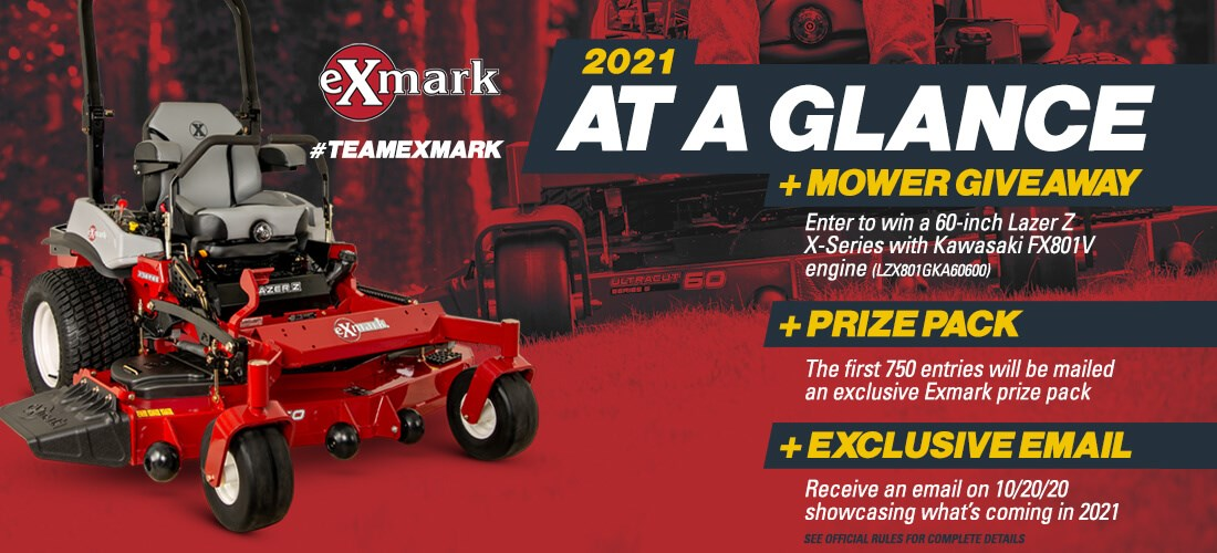 Exmark 2021 At A Glance Promotion