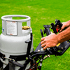 Turf Tracer S-Series Propane In Use - Web Ready